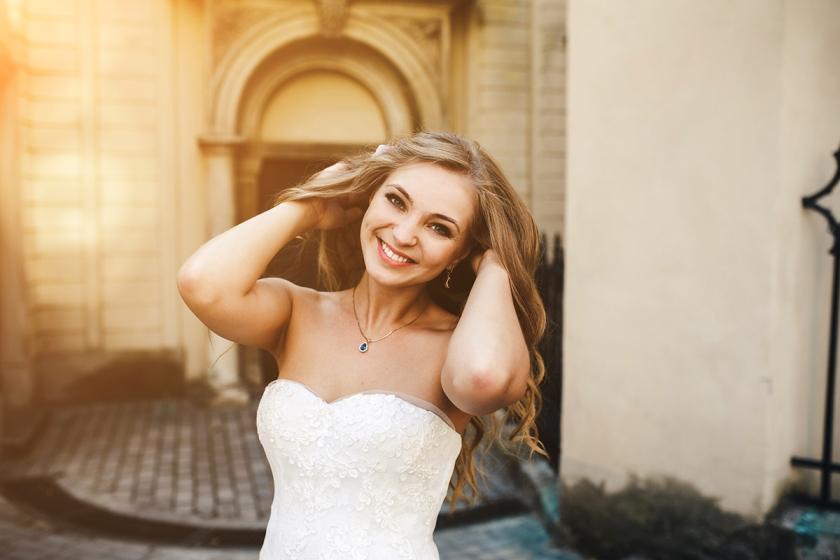 Maquillage de mariée sublime
